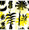 floral seamless pattern nature bright vector image vector image