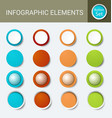 infographic element set vector image