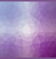 polygonal background in lilac and mulburry purple vector image vector image