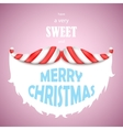 Sweet Merry Christmas vector image