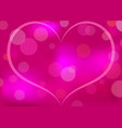 abstract heart patterned background vector image vector image