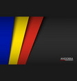 modern background with andorra colors vector image