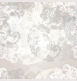 seamless pattern for wallpaper design with swirls vector image vector image
