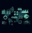 world analytics infographic set transparent vector image