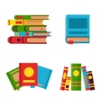 Books set vector image vector image