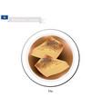 flia or pie with yogurt filling kosovan dish vector image vector image