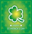 happy st patricks day greeting card 1 vector image vector image
