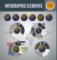 infographic element set9 vector image vector image