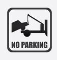 parking design vector image vector image