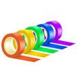 ribbon roll set vector image