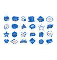 set big sale stickers black friday special offer vector image vector image