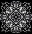 silver pattern vector image vector image