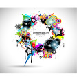 2014 Music Event Background for your Flyers vector image