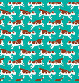 cute dogs seamless pattern background with pets vector image vector image