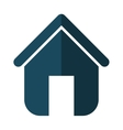 Family House Home icon with door isolated vector image vector image