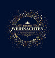 german dark christmas card vector image vector image