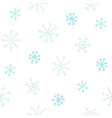 Hand drawn snowflakes seamless pattern