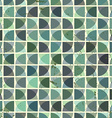 Vintage bright geometric seamless pattern squared vector image