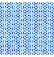 Blue triangles on white abstract seamless pattern vector image