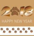 2018 text greeting card design template with vector image
