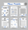 delivery and express shipment planner courier and vector image vector image