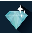 Diamond design Gem icon Colorful design vector image