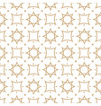 seamless geometric pattern in arabian style vector image vector image