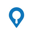 search map icon vector image vector image