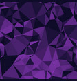 shiny polygonal background in eggplant purple and vector image vector image