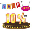 special 10 offer sale tag isolated vector image vector image