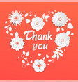 thank you - modern colorful vector image