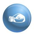 big igloo icon simple style vector image