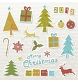 Christmas design elements vector | Price: 1 Credit (USD $1)