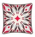 Decorative pillow vector image