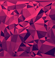 shiny polygonal background in strawberry margrita vector image vector image