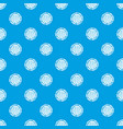 sushi caviar pattern seamless blue vector image vector image