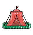 tent vector image