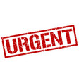 urgent stamp vector image vector image