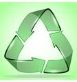 3d ecology logo creative design vector image