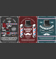 barbershop poles hairdresser chair and mustache vector image vector image
