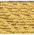 brush golden horizontal lines background vector image vector image