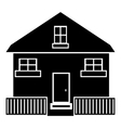Cute house icon simple style vector image vector image