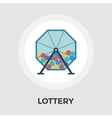 Lotteries flat icon vector image vector image