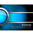 Abstract tech background vector image vector image