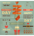 fathers day placard vector image vector image