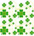 Irish seamless pattern vector image vector image