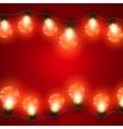 Luminous Electric Garland vector image vector image