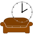Nap time vector image vector image
