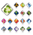 realistic icon - ecology - set for web application vector image vector image