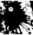splashes ink stain background for design vector image vector image
